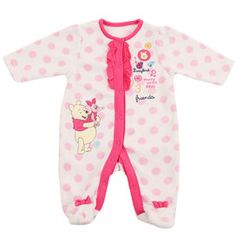 Winnie the Pooh baby girl romper suit. (Newborn- 3 months) £5.99
