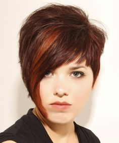 asymmetrical long pixie cut or short hair