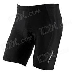 NUCKILY Bike Bicycle Cycling Riding Lycra Shorts - Black (Size L) Price: $18.97