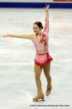 Kiri Baga, Pink Figure Skating / Ice Skating dress inspiration for Sk8 Gr8 Designs