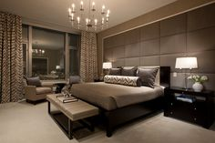 Te mostramos una gran colección de habitaciones modernas, con las últimas tendencias en diseño, estilos y colores, para que puedas decorar tu dormitorio.