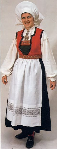 Hello all, Today I will cover the last province of Norway, Hordaland. This is one of the great centers of Norwegian folk costume, hav. Folk Costume, Costumes, Traditional Outfits, Norway, Bell Sleeve Top, Culture, Ethnic, Embroidery, Clothes