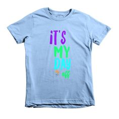 It's My Day Off Fly Tots Short sleeve kids t-shirt