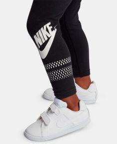 Nike Little Girls Futura Logo Leggings Size 6