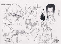 Gengal - Artworks - Samurai Champloo | Catsuka