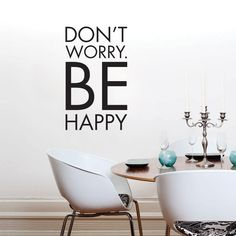 Don't worry be happy stickers