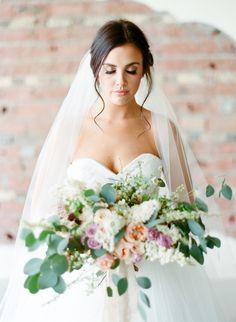 natural light romantic bridal session