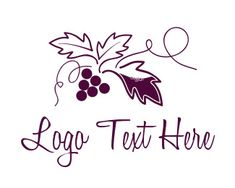 "Logo Maker - Customize this ""Grapevine Vineyard"" Logo Template Instantly - 40739 Logo Maker, Vine Logo, How To Make Logo, Logo Templates, Grape Vines, Graphic Art, Vineyard, Create Yourself, Logo Design"