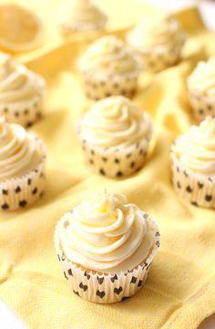 Wicked sweet kitchen: Triple lemon cupcakes