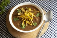 Fo Reals Mom: Butternut Squash and Black Bean Soup
