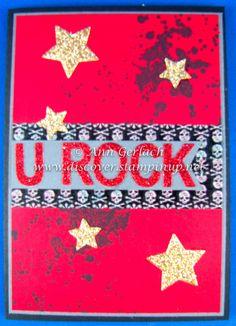 Gorgeous Grunge U Rock Grunge, U Rock, Thank You Cards, Stampin Up, Thinking Of You, Dj, Appreciation Cards, Thinking About You, Wedding Thank You Cards