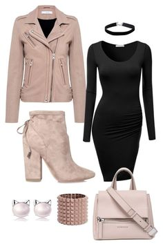 """""""Untitled #31"""" by jsnk ❤ liked on Polyvore featuring IRO, J.TOMSON, Kendall + Kylie, Givenchy, Valentino and Miss Selfridge"""