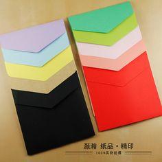 Envelopes quadrados Envelopes Envelopes De Papel 15.8*15.8 Cm Cor 100 PCS