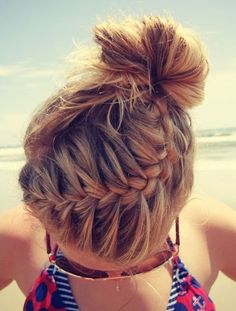 Beach Braids Picture i absolutely love this hair style so pretty perfect for the Beach Braids. Here is Beach Braids Picture for you. Beach Braids fifty shades fashion trendy hair braids for the beach. Pretty Braided Hairstyles, Easy Hairstyles, Braided Updo, Hairstyle Ideas, Style Hairstyle, Updo Hairstyle, Perfect Hairstyle, Wedding Hairstyles, Hairstyles 2016