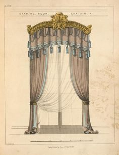 1826 Drawing Room Curtain