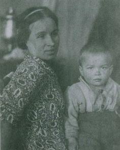 Rudolph Nureyev and mother