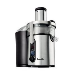 Breville Ikon Multi-Speed Juice Fountain Juicer I am in love! We just got this juicer today. I made the best green/carrot juice. So easy! I Want, Specialty Appliances, Small Appliances, Kitchen Appliances, Kitchen Gadgets, Kitchen Tools, Kitchen Stuff, Kitchen Products, Kitchen Supplies