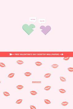 V-Day Desktop Wallpapers via Little White Whale