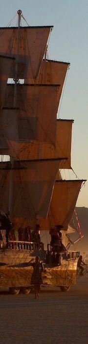 The Monaco Sails – Burning Man