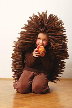 Pustni kostum ježek