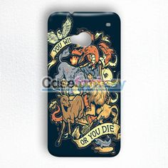 You Win Or You Die HTC One M7 Case | casefantasy