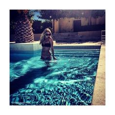 Cool Pool In Hot Weather ❤ liked on Polyvore featuring instagram, photos and pictures