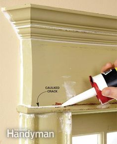 Painters caulk is a necessity for old houses!!