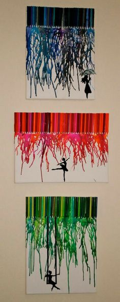 Crayon art! I love the last one.