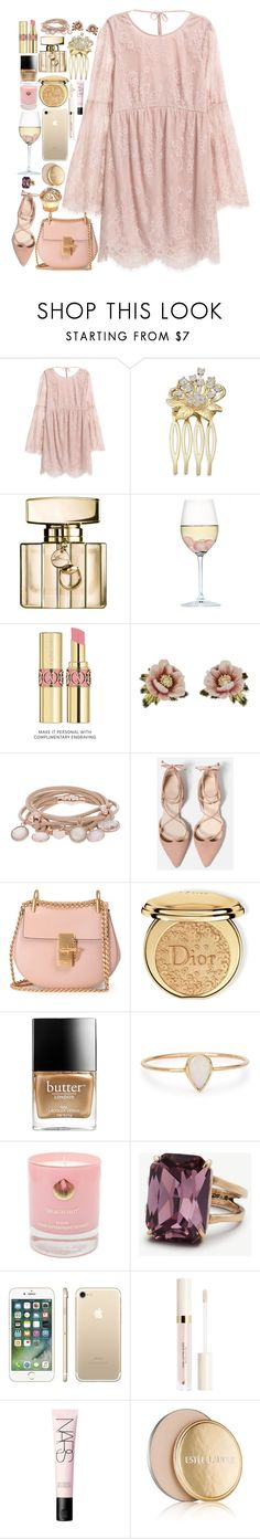 """""""❤"""" by polinachaban ❤ liked on Polyvore featuring Gucci, RabLabs, Yves Saint Laurent, Les Néréides, Marjana von Berlepsch, Chloé, Christian Dior, Butter London, Catbird and Hightide Devon"""