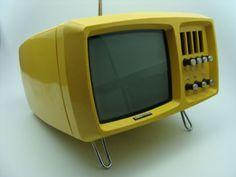 TV Videoton. Mini Vidi TV TC 1620 CU, vintage, 70s