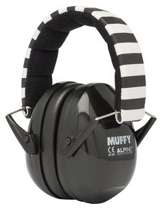 Alpine Hearing Protection (ea) Earmuffs for kids (Black)