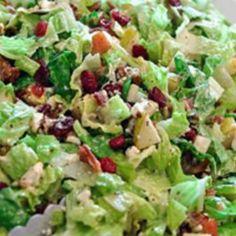 Autumn Chopped Salad Recipe   Just A Pinch Recipes