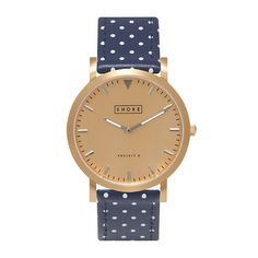 These polka dot watches are so cute.