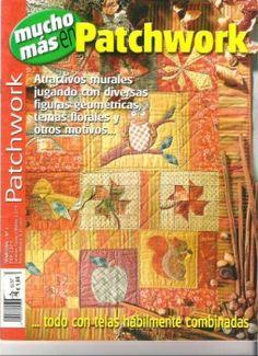 Mucho mas en Patchwork - Johanne L M - Picasa Web Albums Sewing Magazines, Applique Fabric, Book Quilt, Book Crafts, Craft Books, Quilting Designs, Diy Quilting, Paper Piecing, Quilt Blocks
