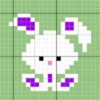 2.rabbit - Stitch Fiddle