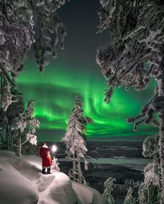 Lapland (Finland) by via : wonderful_places Lightroom, Photoshop, Aurora Borealis, Destinations, Travel Abroad, Belle Photo, Wonderful Places, Land Scape, Light In The Dark