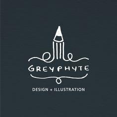 greyphyte - design + illustration by Bhadresh Raval, via Behance