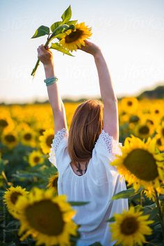 Sunflowers are one of summer's greatest joys. #summer #flowers