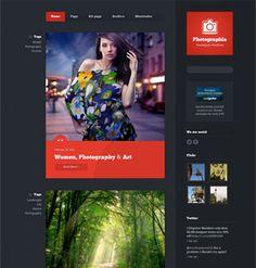 Photographia Photoblog for WordPress Wordpress Theme, Blog, Photography, Photograph, Fotografie, Blogging, Photoshoot, Fotografia