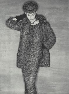 Vintage Dior, Christian Dior Vintage, Vintage Fashion, Fifties Fashion, Vintage Style, David Bailey, Magazine Vogue, Ordinary Girls, Cape Jacket