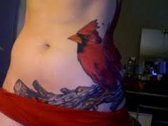 Cardinal Tattoo Designs And Ideas With Meaning : You Will Definitely Love These Cardinal Bird Tattoos. We Collect Some Best Leaf And Cardinal Tattoos For Yo Cardinal Bird Tattoos, Cardinal Birds, 4 Tattoo, First Tattoo, Great Tattoos, Trends, Animal Tattoos, Tattoo Inspiration, Picture Photo