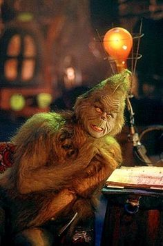 """Jim Carrey in """"The Grinch"""""""
