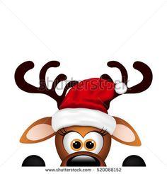 Christmas Cartoons, Christmas Clipart, Noel Christmas, Christmas Humor, Christmas Crafts, Reindeer Christmas, Christmas Background, Christmas Wallpaper, Decoracion Navidad Diy