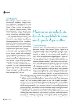 Veículo: Revista Bons fluídos. Data 26.8.2015 Cliente: Editora Alaúde