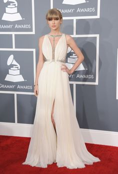 Taylor #Swift Prom #Dress #Grammys 2013 Red #Carpet Formal Gown Click to Buy!