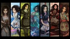 alice video game tattoos | women,Video Games women video games alice in wonderland fantasy art ...