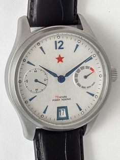 Red Star 7799G-A Automatic with Power Reserve Watch