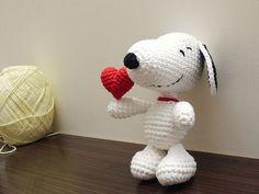 Snoopy amigurumi