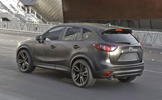 Mazda CX-5 Urban _ very handsome with this trick paint.