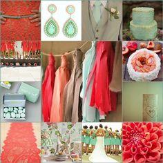 wedding colors + summer 2015 | Wedding Blog - it's a bride's life - real brides blogging 'til ...
